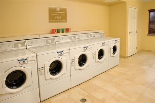 On-site complimentary laundry facility