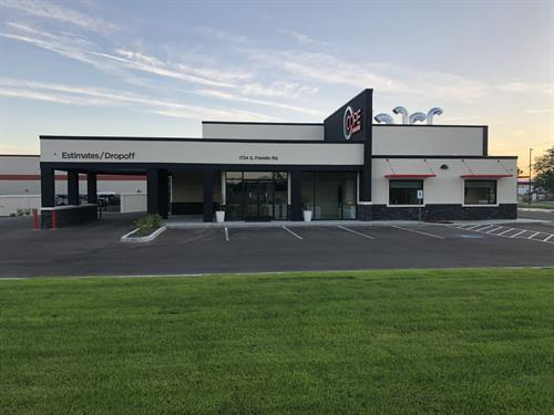 Front of Cope Collision Center