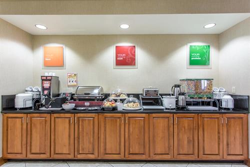 Comfort Suites Hopkinsville - Breakfast Area