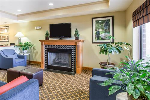 Comfort Suites Hopkinsville - Lobby Area