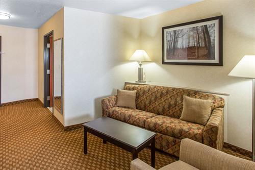 Comfort Suites Hopkinsville - InRoom Sitting Area