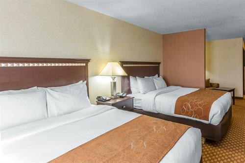 Comfort Suites Hopkinsville - Two Queen Bedroom Suite