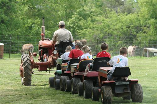 Lawnmower Train