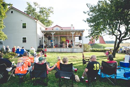 Live music on select saturdays throughout the summer!