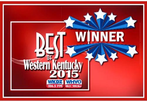 Thank you for voting us Best of Western Ky.