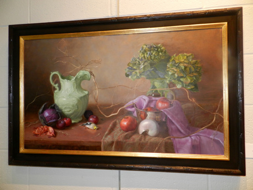 Best of Show at 45th Pennyroyal Juried Art Exhibition October 2015