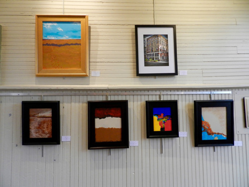 L&N Depot art exhibit in April 2016