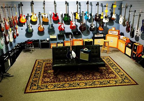 Electric Guitars and Amplifiers