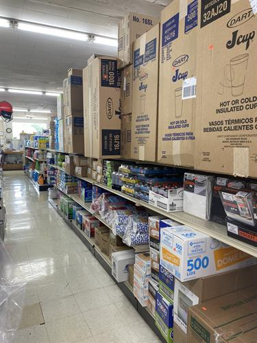 Now offering a wide variety of restaurant supplies