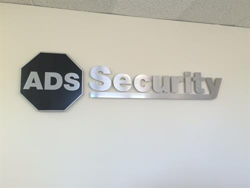 New sign inside the Clarksville office