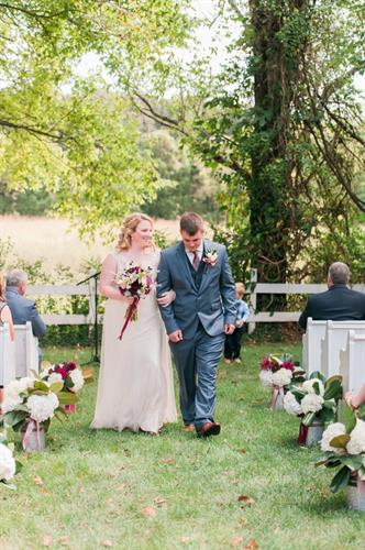 Jessica and Cody's wedding was one of our favorites!