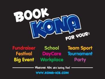 Book Kona Ice for ANY Event
