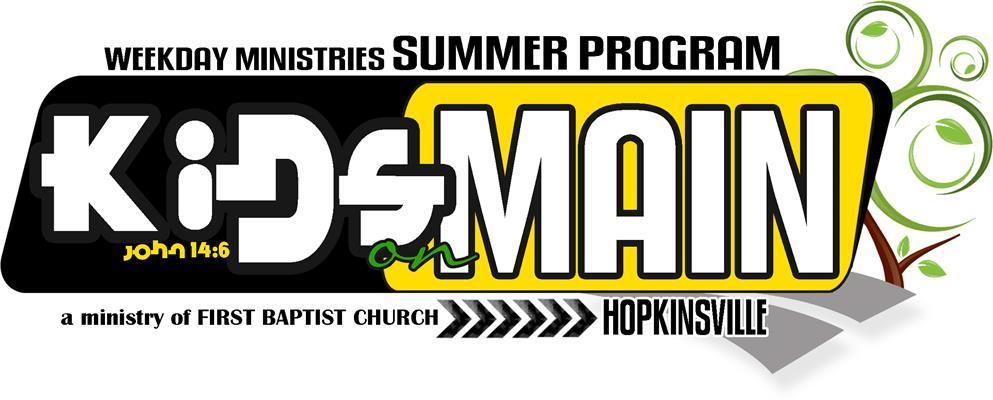 First Baptist Church - KIDS on MAIN Summer Program Director
