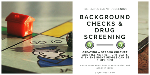 Know who your're hiring with our Background Checks.
