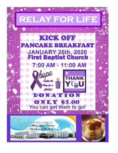 Pancake Breakfast 2020