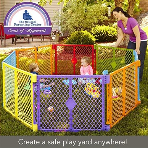8 or 16 Panel play yard for Toddlers to rent for events or parties!