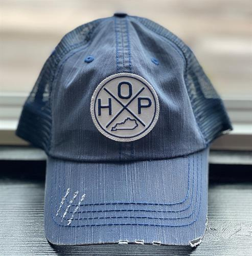 Custom Patch Hat for & available at Hopkinsville-Christian County Convention & Visitors Bureau