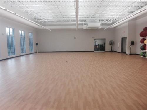 New Aerobics Room