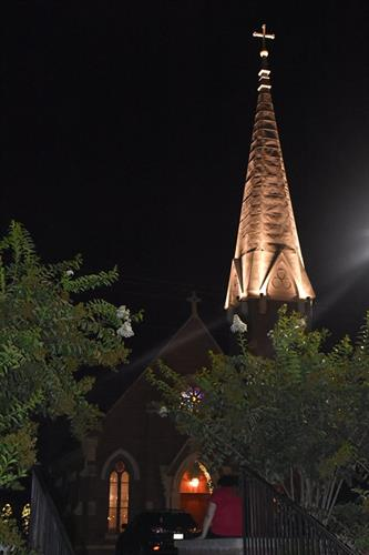 Beautiful Grace at night