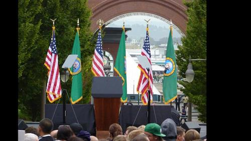 Joe Biden at University of Washington Tacoma