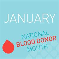 Happy National Blood Donor Month!