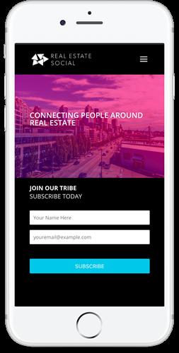 Mobile Website Design