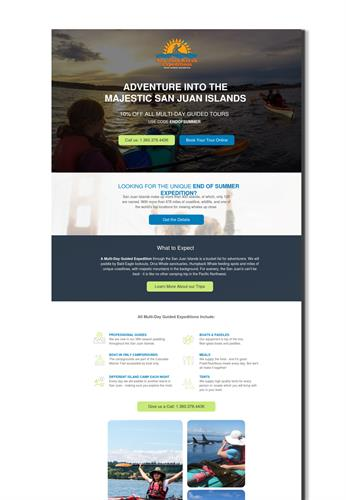 Marketing Campaign Landing Page