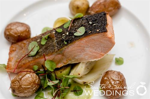 Wild Caught Sustainably Souced Salmon