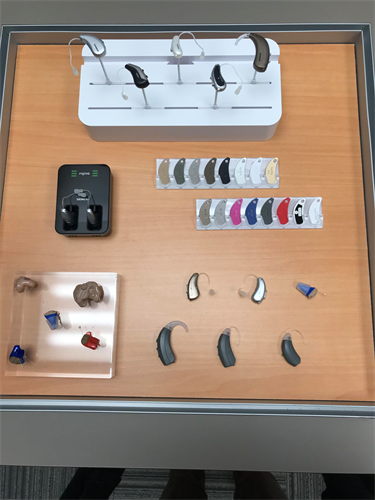 hearing aid styles and colors