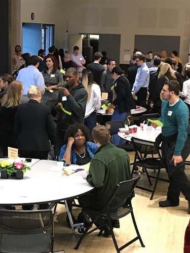 Next Move high school interns network with local businesses at the Celebration Breakfast