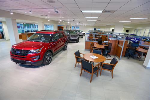 15 Car Showroom