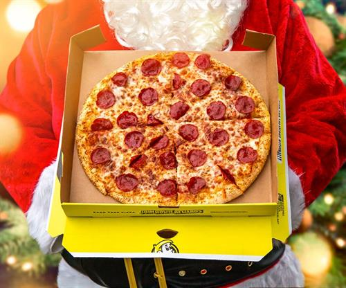 Santa doesn't want cookies, he wants flavored crust pizza1