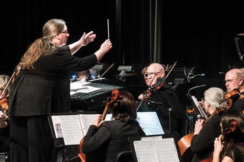 FCO Simply Strings Music Director and Conductor Jane Ball