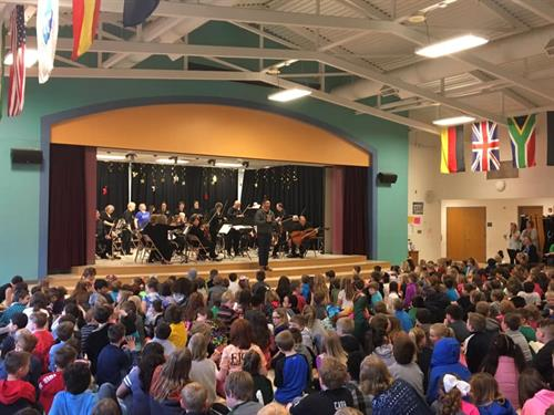 """FCO performs at """"Music in our Schools Day"""" at North Road Elementary School - Season 9 - 2019"""