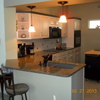 Complete kitchen remodel we did.