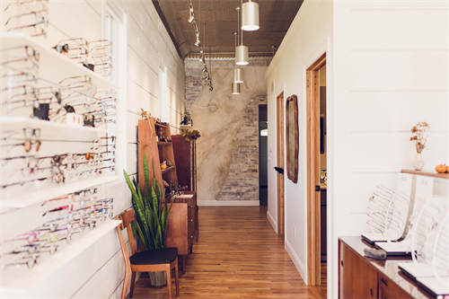 Our boutique optical.