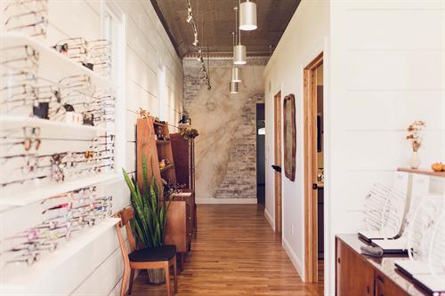 Our boutique optical.