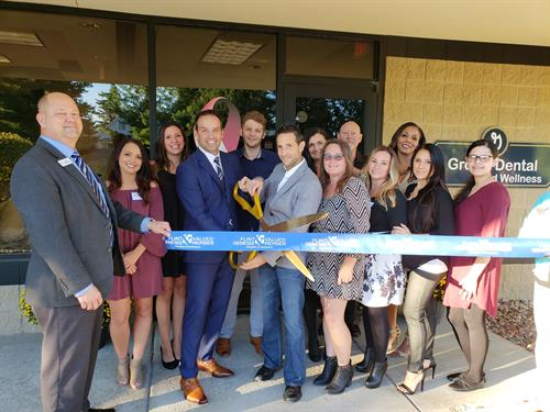 Ribbon Cutting Sept. 26, 2018  Name Change and Med Spa Launch