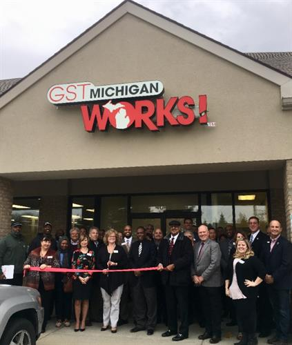 GST Michigan Works! Fenton Ribbon Cutting Ceremony