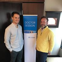 Dr Brad and Dr. Alex attending a seminar in Cleveland!