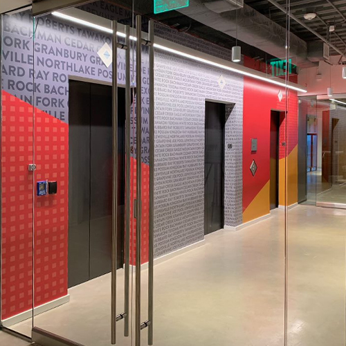 Gensler, NY: Interior Graphics