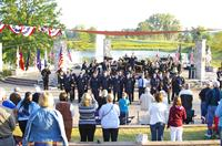 The Chesterton Community at the 9/11 Tribute at Coffee Creek