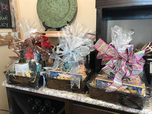 We can design a custom gift basket.  Corporate Accounts are Welcome!