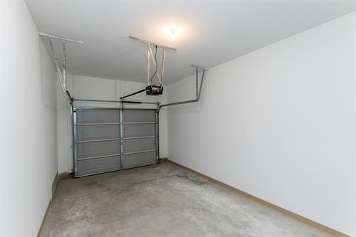 Private attached garage with EVERY apartment home