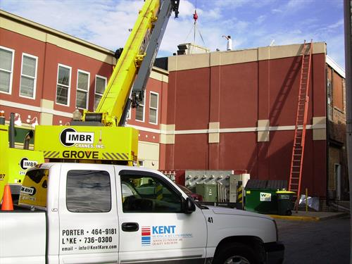 Commercial service and installation is a specialty of ours!  High quality, competitively priced, and delivered on time is what we strive to deliver every time.