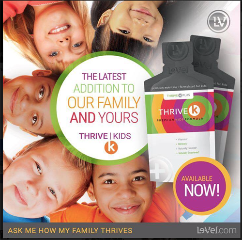 Thrive for Kids- organic and amazing for our littles!