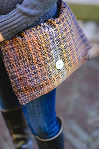 Handwoven Messenger Bag