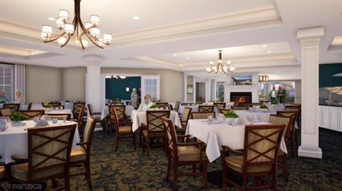 Senior Living Restaurant