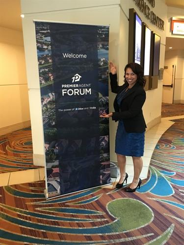 Guest speaker at Zillow Premiere Agent Forum in Las Vegas
