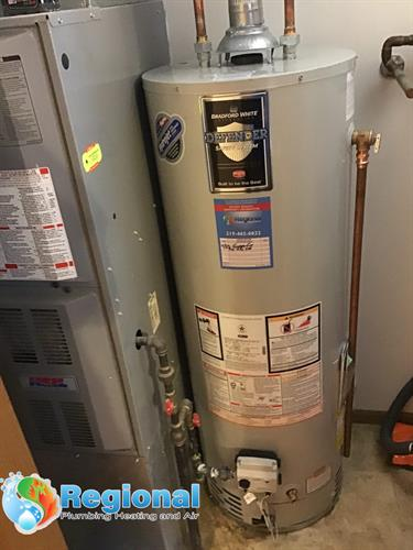 Bradford White Water Heater Installation